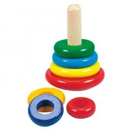 Bino Színes gyűrűpiramis