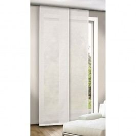 Albani Adriana függönypanel, fehér, 245 x 60 cm