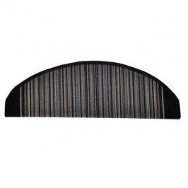 Carnaby lépcsőszőnyeg, antracit, 24 x 65 cm