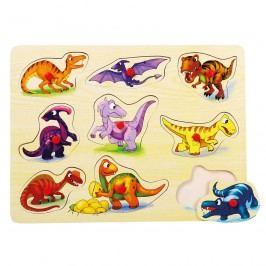 Bino Dinoszauruszok fogantyús puzzle