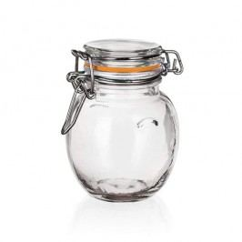 Banquet Lina hermetikusan zárható üveg tároló 120, ml, 6 db-os készlet