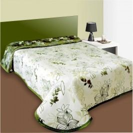 Forbyt Lisbon ágytakaró zöld, 240 x 260 cm