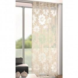 André virágok árnyékoló függöny szürke, 135 x 245 cm