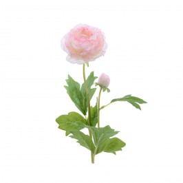 Mű ranunculus rózsaszínű, 57 cm