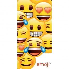 Jerry Fabrics Emoji fürdőlepedő, 70 x 140 cm , 70 x 140 cm