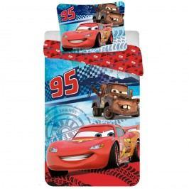 Gyermek pamut ágyneműhuzat, Cars speed, 140 x 200 cm, 70 x 90 cm