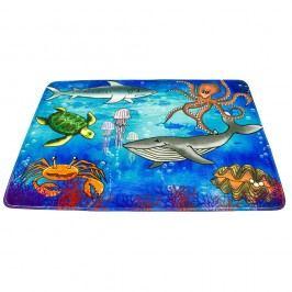 Gyermek szőnyeg - a tenger világa, 76 x 117 cm