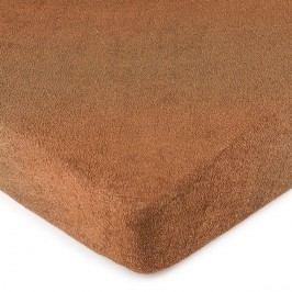 4Home frottír lepedő barna, 180 x 200 cm, 180 x 200 cm