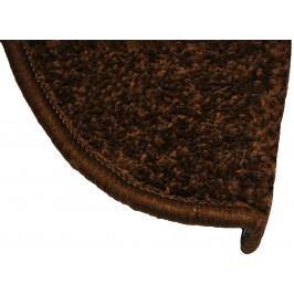 Eton lépcsőszőnyeg, barna, 24 x 65 cm