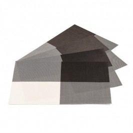 Jahu DeLuxe alátétek barna, 30 x 45 cm, 4 db-os szett