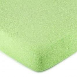 4Home frottír lepedő zöld, 160 x 200 cm