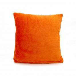 Jahu Mikroplüss párna New narancssárga, 40 x 40 cm Kispárnák kitöltéssek