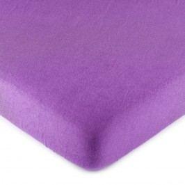 4Home jersey lepedő lila, 90 x 200 cm