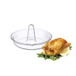 Simax Üveg csirkesütő tál
