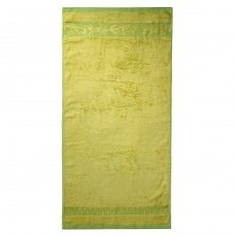 Jahu Hanoi bambusz fürdőlepedő zöld, 70 x 140 cm