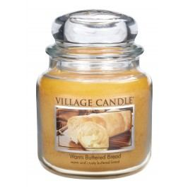 Village Candle illatgyertya, Meleg zsemle - Warm Buttered Bread, 397 g