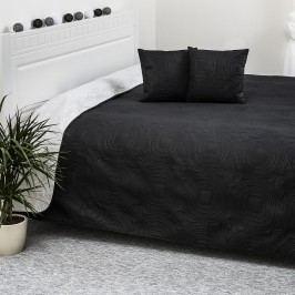 4Home Doubleface fekete/fehér ágytakaró, 220 x 240 cm, 40 x 40 cm