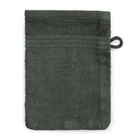 Jahu Bambusz mosdókendő sötétszürke, 14 x 22 cm