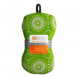 MÜkitchen MÜmicro® mosogatószivacs, Marrakesh Multi, zöld