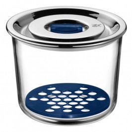 WMF Top Serve üveg tárolóedény csepegtető ráccsal, Ø 13 cm