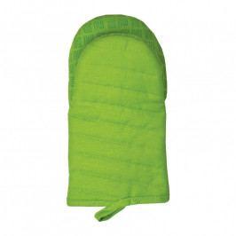 MÜkitchen MÜincotton® edényfogó kesztyű, szilikonos, zöld