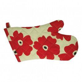 MÜkitchen MÜincotton® edényfogó kesztyű, Red Poppy