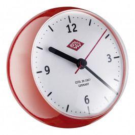 Wesco Mini asztali óra időzítővel, piros