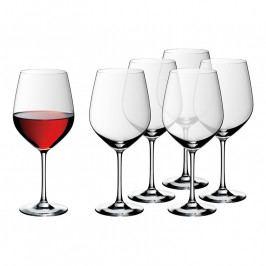 WMF Easy Plus kristálypohár készlet Burgundy vörösborhoz