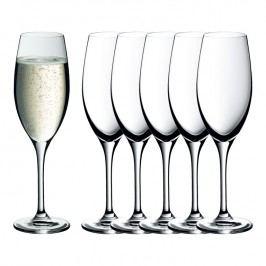 WMF Easy Plus kristálypohár készlet pezsgőhöz/habzóborhoz