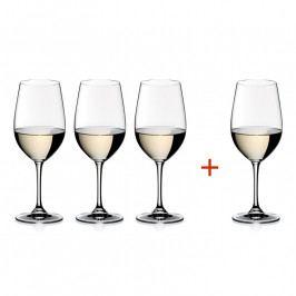 Riedel Kedvezményes szett: Riesling Grand Cru kristály borospohár, 3+1 db ajándék, Vinum