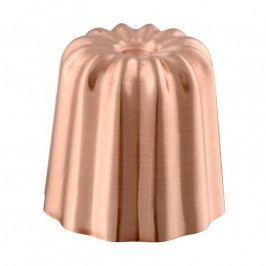 MAUVIEL Canelé sütőforma; réz; 4,5 cm; Mauviel