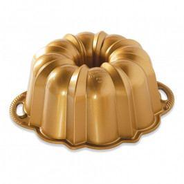 NordicWare Anniversary Bundt® kuglóf sütőforma, nagyméretű,arany, Nordic Ware