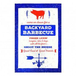 MÜkitchen MÜincotton® konyharuha / törölköző, Backyard BBQ