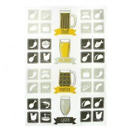 MÜkitchen MÜincotton® konyharuha / törölköző, Craft Beer