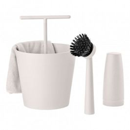 ZONE BUCKET mosógatókészlet, 4 részes, warm grey