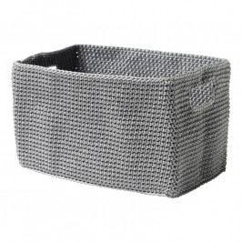 ZONE Kozmetikai tárolódoboz, téglalap alakú, grey