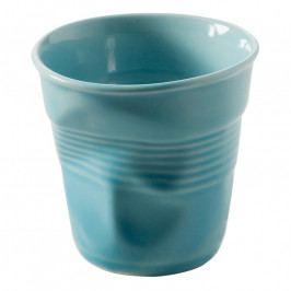 REVOL Froissés espresso pohár, 8 cl, Karibi-kék