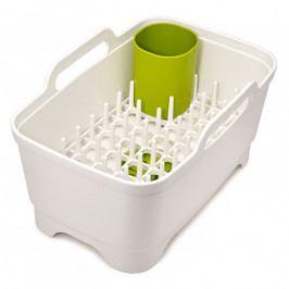 Joseph Joseph Wash&Drain™ Plus műanyag mosogatótál edényszárítóval, fehér