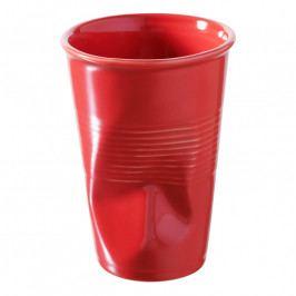 REVOL Froissés pohár, 25 cl, paprikapiros