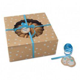 NordicWare Kraft Paper Bundt Box papír ajándékdoboz kuglófhoz, 4 db, kisméretű, Nordic Ware