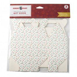 NordicWare Seasonally Sweet Holiday papír sütidoboz, 3 db, Nordic Ware