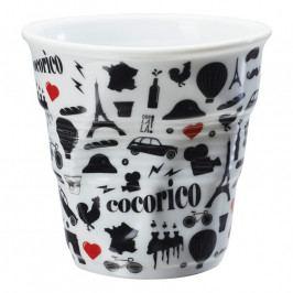 REVOL Froissés cappuccino pohár,