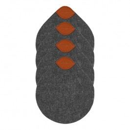 ZONE CRAFT poháralátét, dark grey