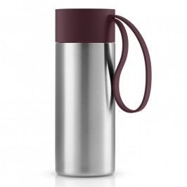 Eva Solo To Go XL thermo bögre; burgundi vörös kupakkal; 0,5 liter; rozsdamentes acél; Eva Solo