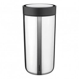 Stelton To Go Click thermo bögre; 0,34 liter; steel; I:cons; stelton