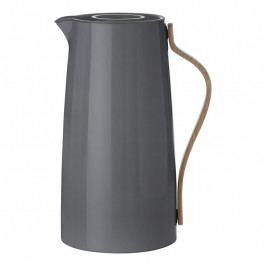 Stelton Emma vákuumos kávétermosz; 1,2 liter; grey; Danish Modern 2.0; stelton