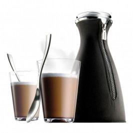 Eva Solo CafeSolo Latte kávéfőző készlet: kávéfőző + 2 pohár + 2 café latte kanál