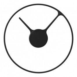 Stelton Classic falióra, nagyméretű, Ø 30 cm, black