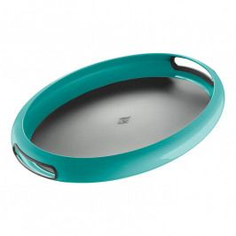 Wesco Spacy Tray tálca, ovális, türkiz