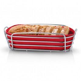 Blomus DELARA kenyérkosár, ovális, piros